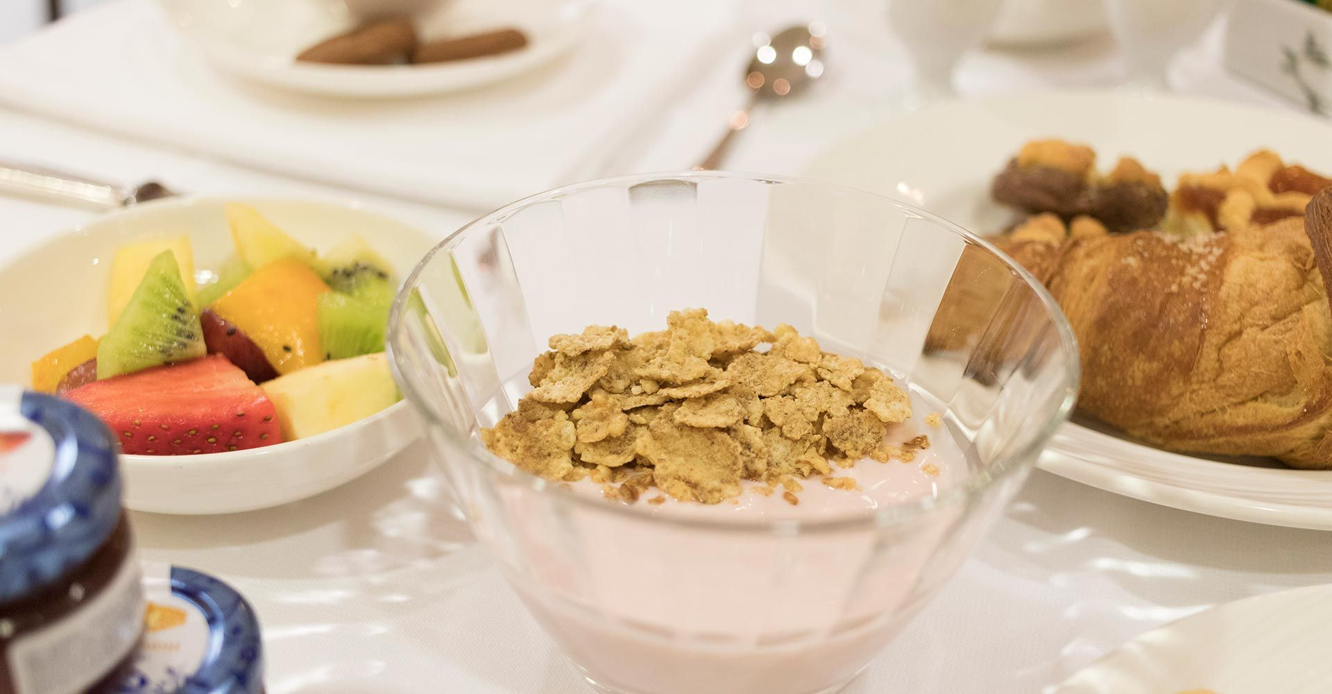 Hotel Palace Civitanova - yogurt e cereali